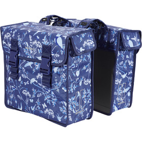 Basil Wanderlust Borsa doppia per portapacchi 35l, blu